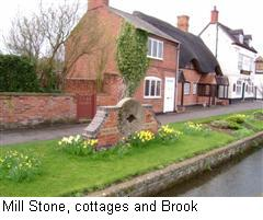 Millstone Cottages and Brook