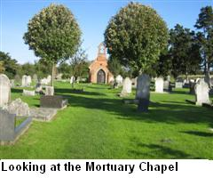 Looking at the Morturary Chapel
