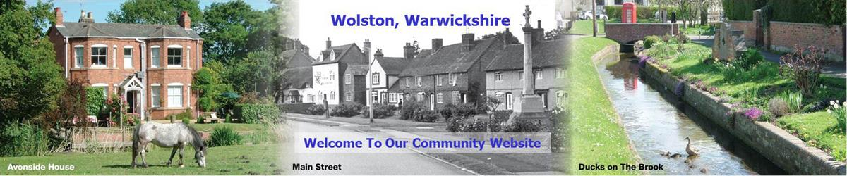 Wolston Community - Home Page header